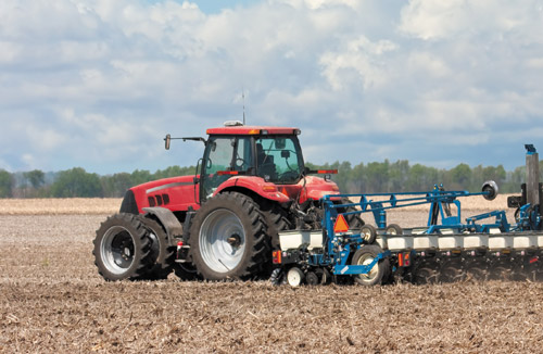 Planting accurate and repeatable with precision agriculture technology