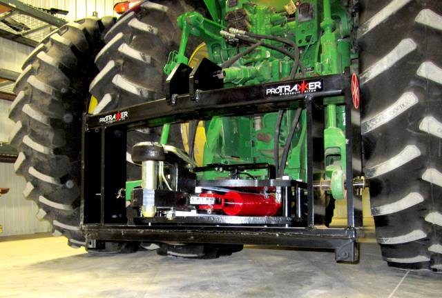 Tractor 3 Point Hitch Conversions : Dx hydraulic hitch guidance system protrakker