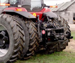 ProTrakker 400DX Hydraulic Hitch mounted on a CaseIH MX285 tractor