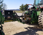 ProTakker 400DX with a 8000 series John Deere tractor and a 1770 planter